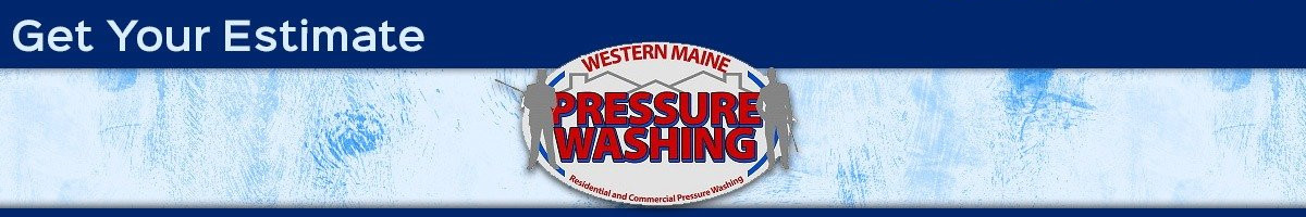 western maine pressure washing