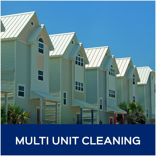 multi-unit exterior cleaning