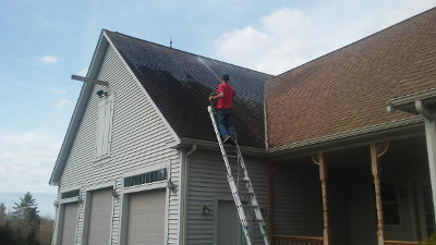 roof pressure washing