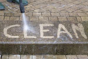 pressure washed steps in falmouth