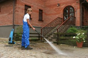 pressure washing residential exteriors