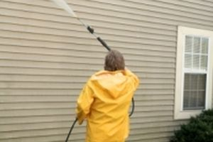 siding pressure washed in scarborough